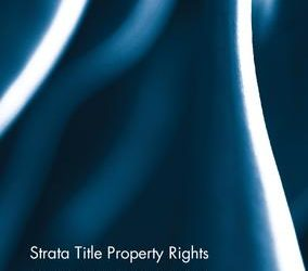 Strata Title Property Rights by Cathy Sherry
