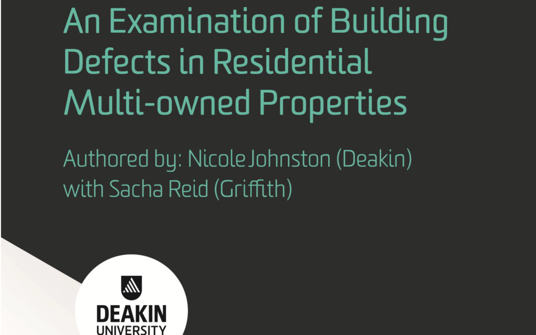 An Examination of Building Defects in Multi-owned Properties